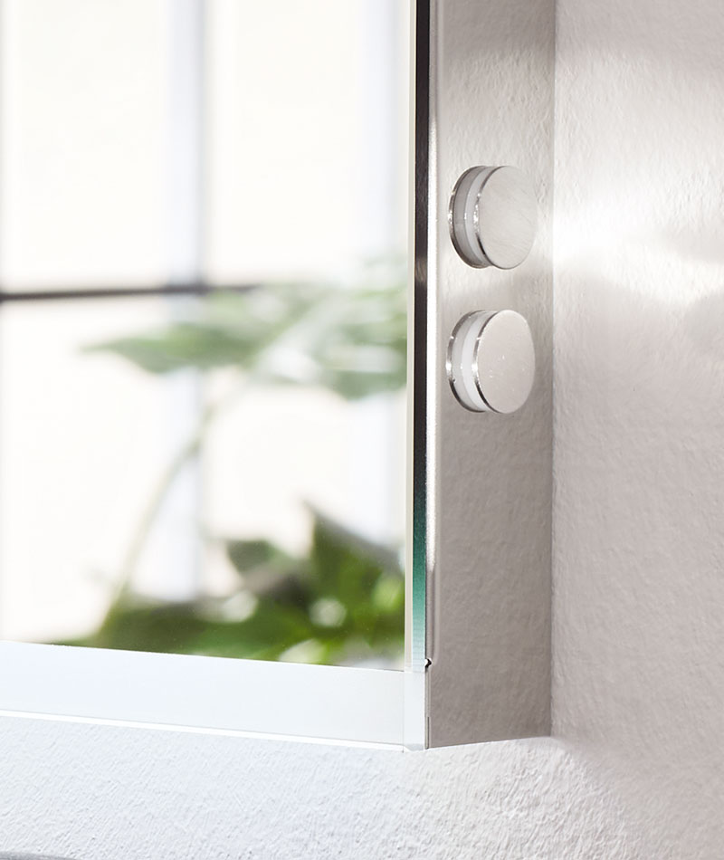 Brillant Modul LED Leuchtspiegel sanibel