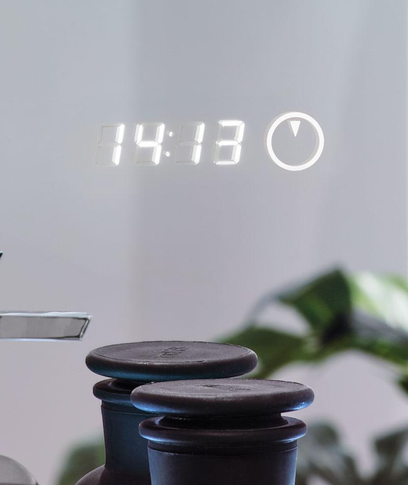 Digitaluhr Lichtspiegel sanibel
