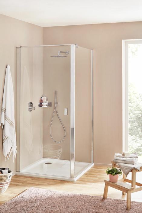 Dusche Trennwand Pendeltür