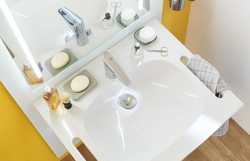 Waschtisch verstellbar sanibel