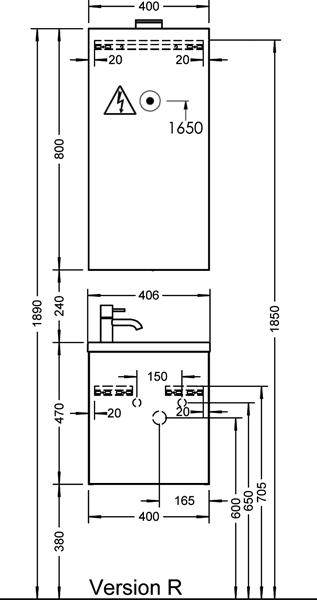 sanibel waschtischelement 1 1 seen 040. Black Bedroom Furniture Sets. Home Design Ideas