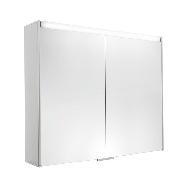 Spiegelschrank 2-türig Melamin der Serie Pure