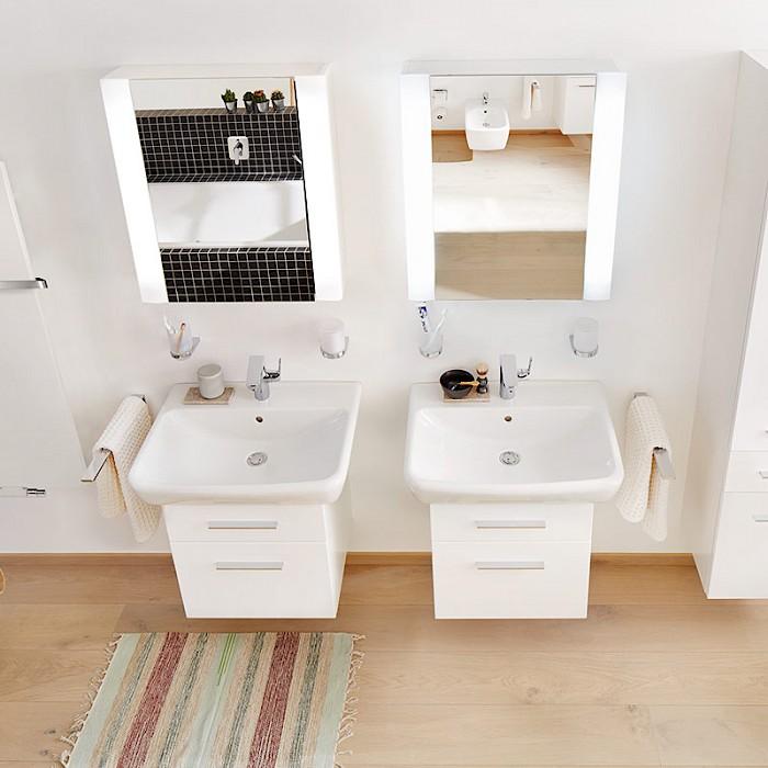 hochwertige badm bel weiss hochglanz. Black Bedroom Furniture Sets. Home Design Ideas