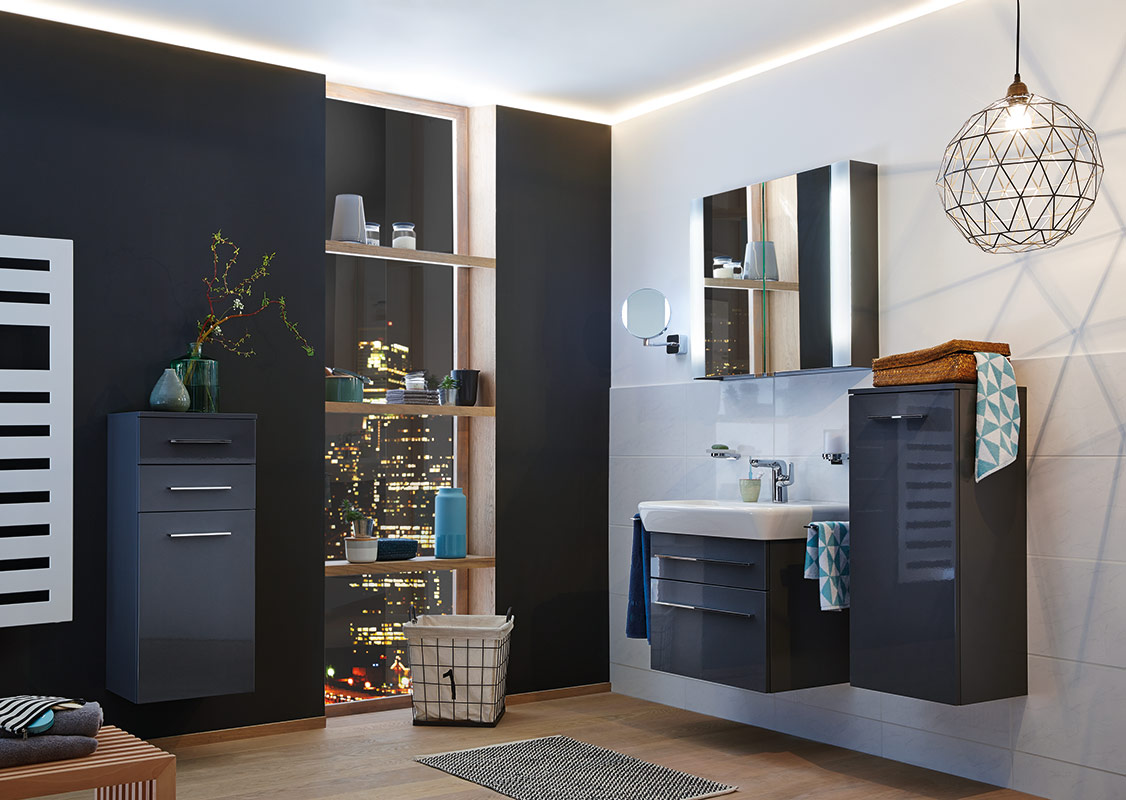 badm bel anthrazit hochglanz. Black Bedroom Furniture Sets. Home Design Ideas