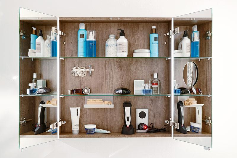 Spiegelschrank  Spiegelschrank der Serie Style | sanibel Badmöbel