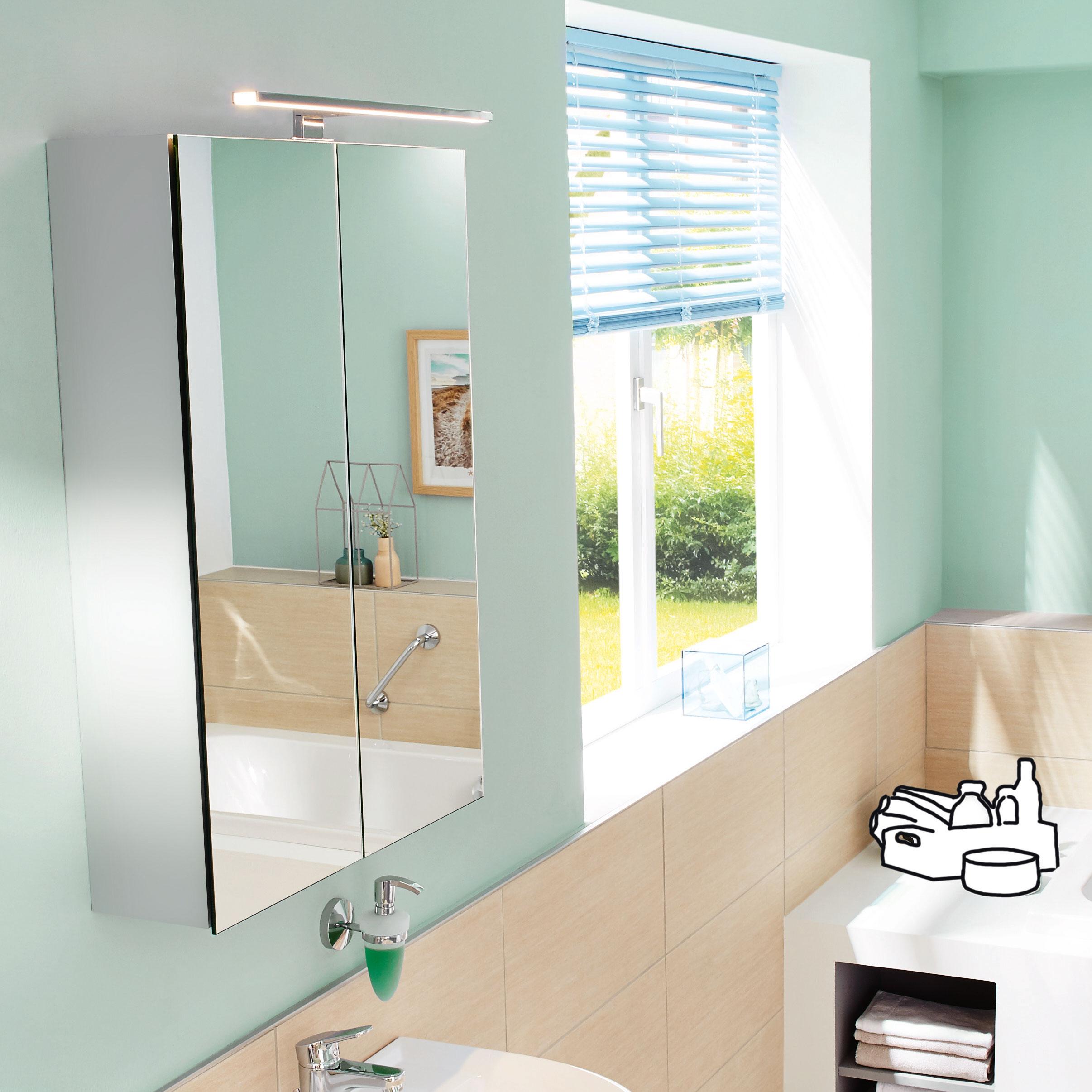 Spiegelschränke ALU-GO