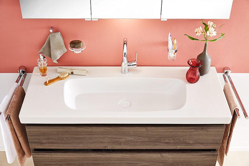 badm bel 4 0 marone dekor tr ffel. Black Bedroom Furniture Sets. Home Design Ideas