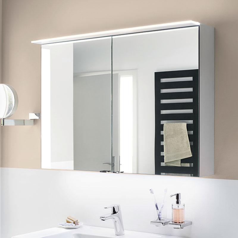 Design-Spiegelschrank ALU-TREND der Marke sanibel